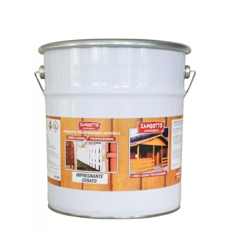 Image of Impregnante cerato a solvente per legno interni ed esterni 1 lt Bianco