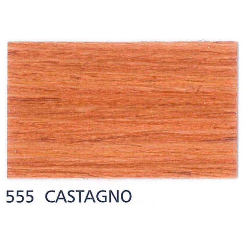 Image of Impregnante cerato Carson Vernis Aqua Colore 555 Castagno - Lattaggio 750 ML