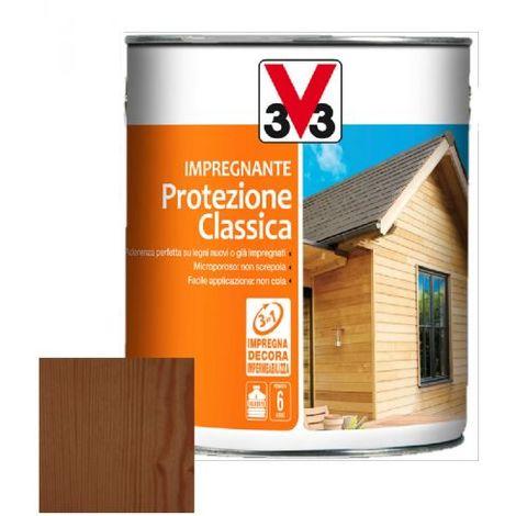 IMPREGNANTE COMPLETO LEGNO PROTEZIONE CLASSICA 0,75 LT V33