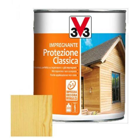 IMPREGNANTE COMPLETO LEGNO PROTEZIONE CLASSICA 5 LT V33