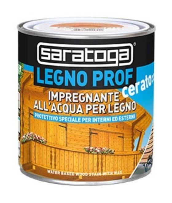Image of Impregnante 'Legno Prof' all'acqua per legno Cerato CASTAGNO By Saratoga 750 ml