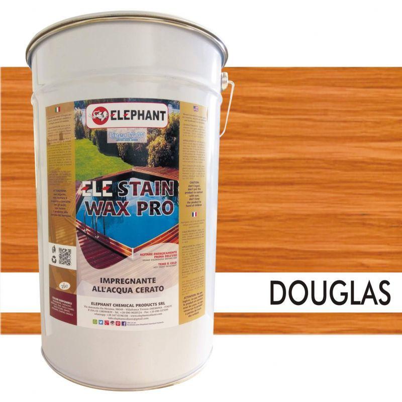 Image of Impregnante per legno all'acqua CERATO (Douglas) - ELE STAINWAX PRO 25 lt