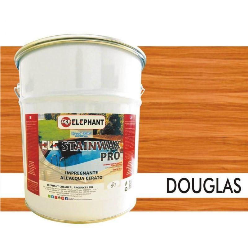 Image of Impregnante per legno all'acqua CERATO (Douglas) - ELE STAINWAX PRO 5 lt