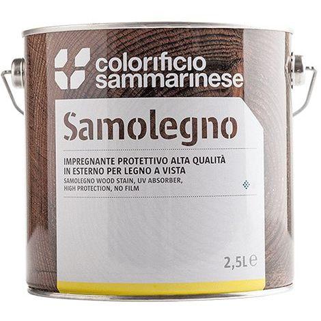 "main image of ""IMPREGNANTE 'SAMOLEGNO' Lt. 5 Noce chiaro"""
