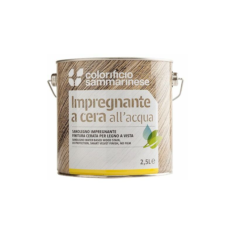Image of Colorificio Sammarinese - IMPREGNANTE 'SANOLEGNO' Lt. 0,750 Cerato Trasparente