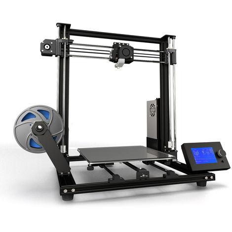Impresora 3D, 300 * 300 * 350 mm Tamano de impresion del marco de aleacion de aluminio