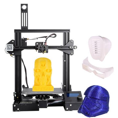 Impresora 3D, admite tamano de impresion 220 * 220 * 250 mm, 110 / 240V