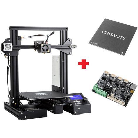 Impresora 3D Creality Ender-3Xs Pro Versión personalizada 220 x 220 x 250 mm Ender-3Xs Pro Mute + Glass Hasaki