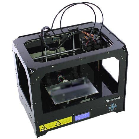 Impresora 3d de doble cabezal