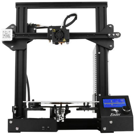 Impresora 3D, tamano de impresion 220 * 220 * 250 mm, 100-265 V