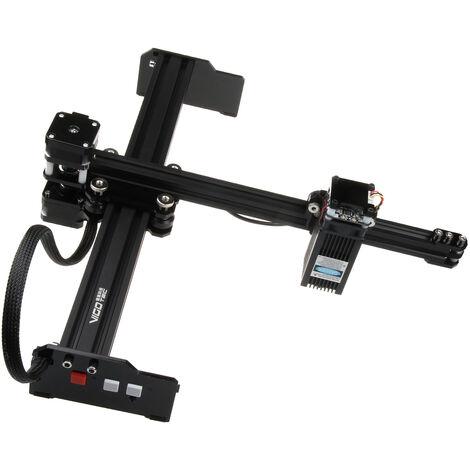 Impresora laser 20W grabador de escritorio maquina de grabado grabado cortador portable arte del hogar del arte DIY de la maquina de corte por laser con el area de trabajo sin conexion de control 320mmx190mm de plastico de madera de bambu Piel