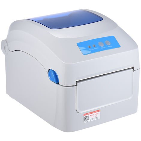 Impresora termica, ancho 20-118 mm, con entrada de etiqueta externa