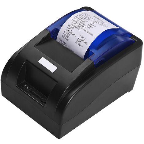 Impresora termica de recibos portatil USB de 58 mm, con ESC / POS