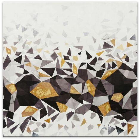 Impression d'image moderne Géométrique cm 100x100x3,5 Artedalmondo AS470X1
