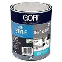 Impression GORI STYLE Multi-supports Intérieur Extérieur BLANC