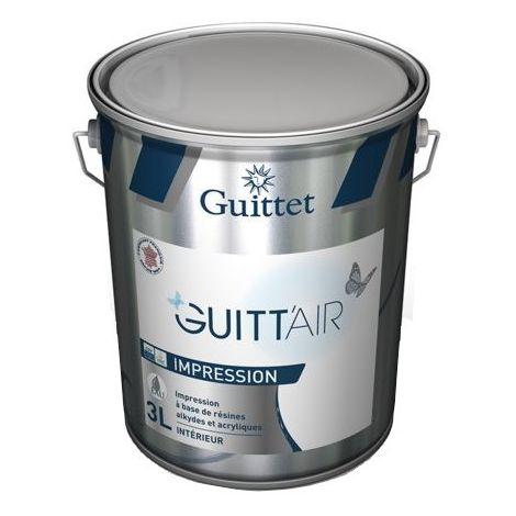 Impression GUITTET Guitt'air intérieur adaptée au projets environnementale BLANC