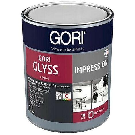 Impression universelle GORI GLYSS murs, plafonds et menuiseries intérieures et bois ext