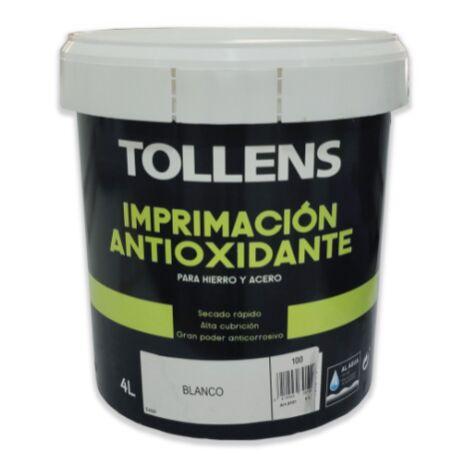 IMPRIMACION ANTIOXIDANTE AL AGUA 4 LT | BLANCO 100