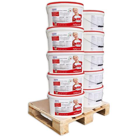 Imprimación para paredes interiores PROFHOME 300-22-10 Promotor adherencia para papeles pintados y no tejidos pesados blanco 125L para 600 m2