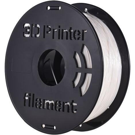 Imprimante 3D 1 kg / rouleau Consommables PC Materiau d'impression en polycarbonate> 240 ¡æ Temperature d'impression 1,75 mm blanc PC-240 ¡æ