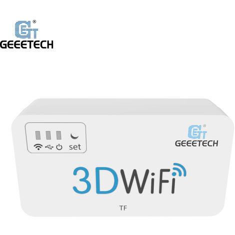 Imprimante 3D Geeetech Module Wifi 3D Pieces Mini Wifi Box Avec Tf Slot Pour Carte Usb 2.0 Interface Pour Anet A8 / Anycubic I3 Mega / Creality Cr-10 / Monoprice Mini Imprimante Sans Fil De Controle 3D