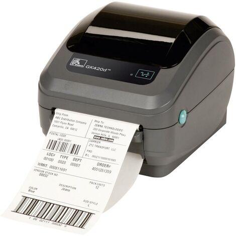 Imprimante à étiquettes Zebra GK420D USB, RS-232, parallèle