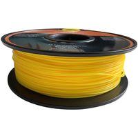 Imprimante à filament 3D 1kg PLA Imprimante à rouleau (bobine) de 1,75mm cartouche, jaune