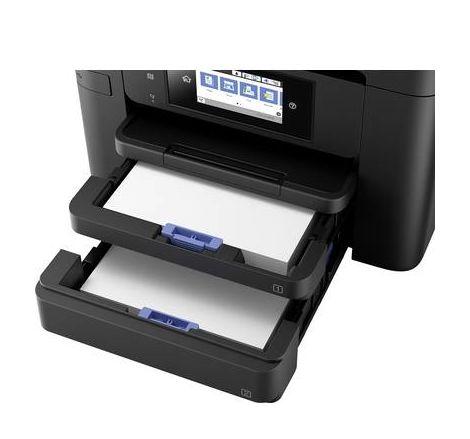 Imprimante à jet dencre multifonctions Epson WorkForce Pro WF-4740DTWF C11CF75402 A4 imprimante, scanner, photocopieur, fax chargeur automatique de d