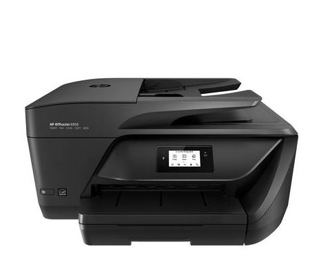 Imprimante à jet dencre multifonctions HP OfficeJet 6950 All-in-One P4C85A#BAW A4 imprimante, scanner, photocopieur, fax Wi-Fi, recto-verso, chargeur