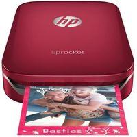Imprimante photo de poche HP - Sprocket Rouge - Impression instantannee