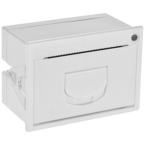 Imprimante Thermique 58 Mm, Interface Rs232 + Usb, Impression Haute Vitesse 50-85 Mm/S