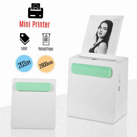 Imprimante Thermique Sans Fil Bt, 203Dpi
