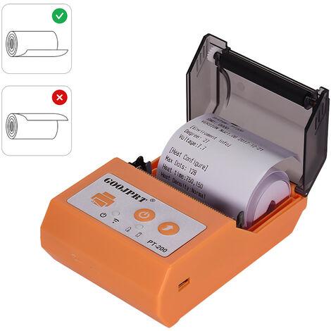 Imprimante Thermique Sans Fil Bt 58 Mm Pour Recus
