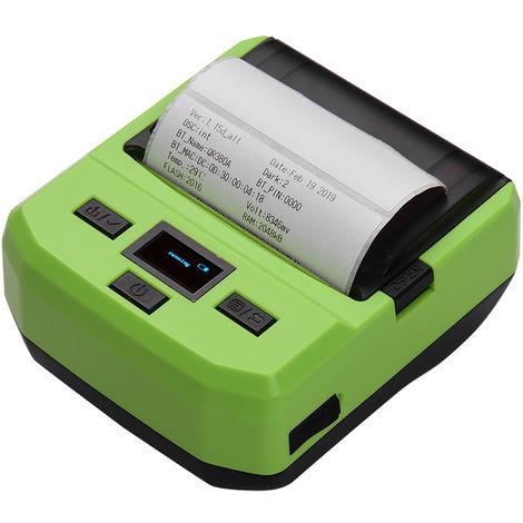 Imprimante Thermique Sans Fil Bt 80Mm, Impression D'Etiquettes