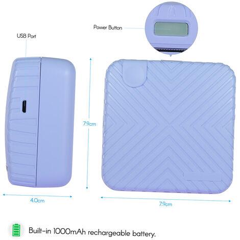 Imprimante Thermique Sans Fil Bt, Resolution 203Dpi, Bleu