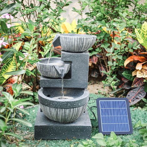 """main image of """"In/Outdoor Water Fountain Feature LED Lights Garden Statues Decor Electric Powered"""""""