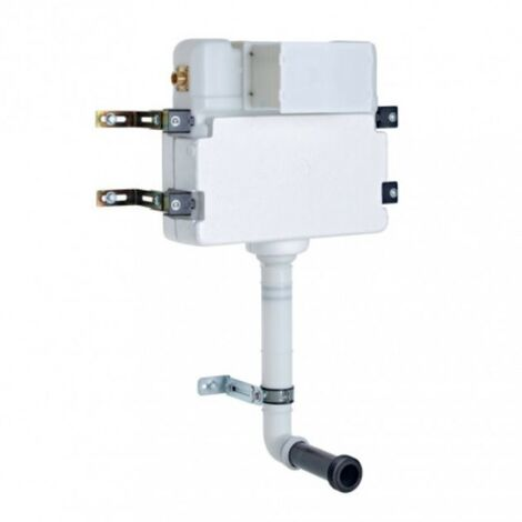 In-Wall Side Inlet Pnuematic Concealed Dual Flush Cistern
