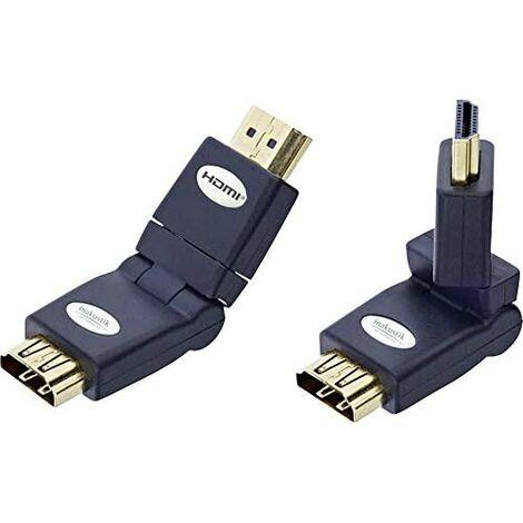 Inakustik HDMI WINKELADAPTER 360 HDMI-ST/HDMI-ST