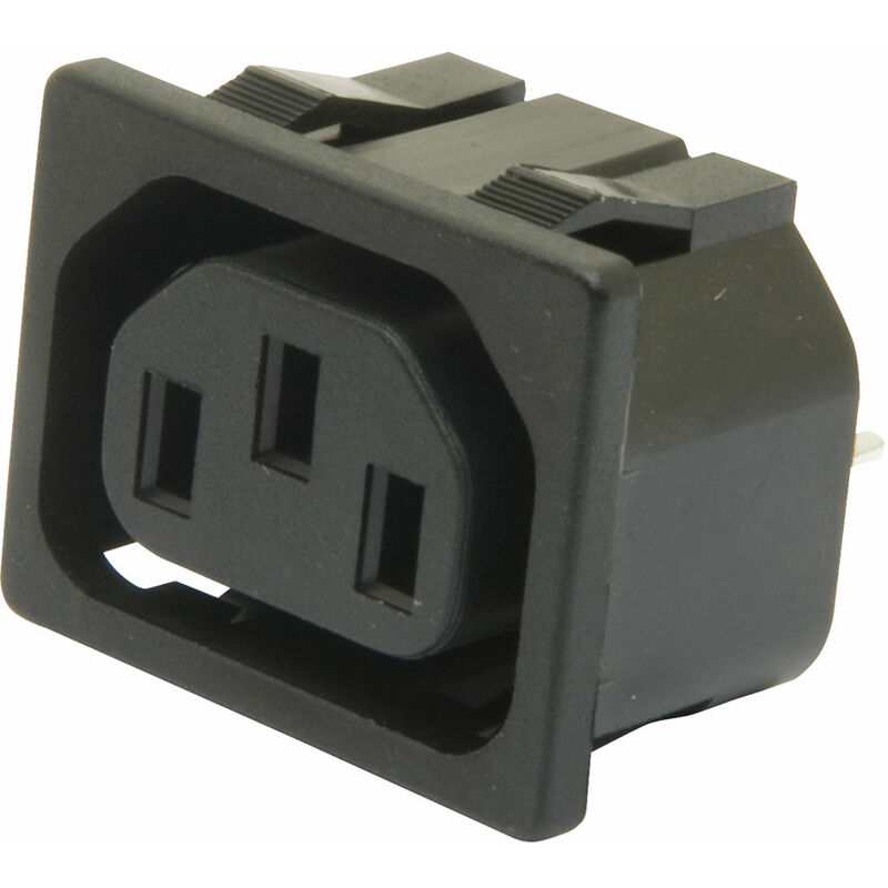Image of IEC Outlet (Push Fit) 4.8mm - Inalways