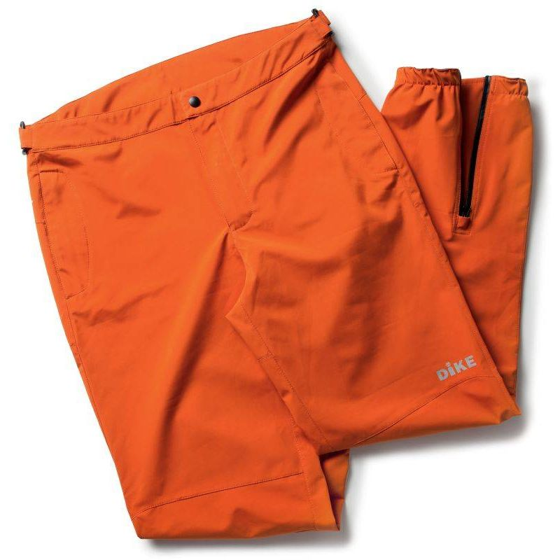 INCH pantalon de travail étanche 100% polyester Orange - T. S - DIKE