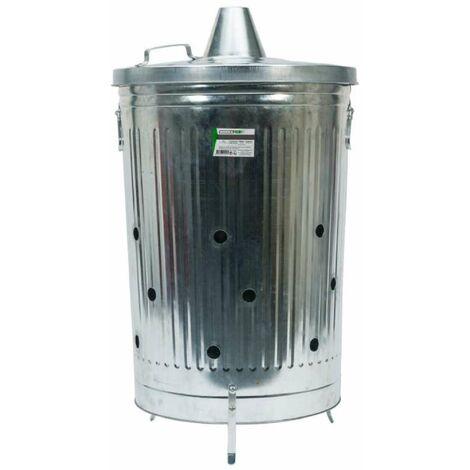 Incinérateur de jardin 100 litres Werkapro