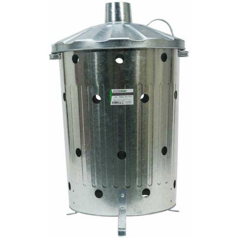 Incinérateur de jardin 75 litres Werkapro