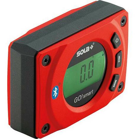 Inclinometre et rapporteur Sola digitale avec bluetooth Lxlxh : 80x55x27mm