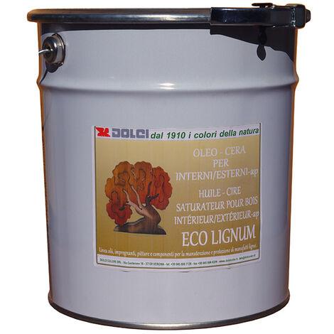 INCOLORE - 0.75L - HUILE POUR BOIS NATURELLE EXTÉRIEURE HAUTE PROTECTION (1L/15M2) DOLCI - incolore