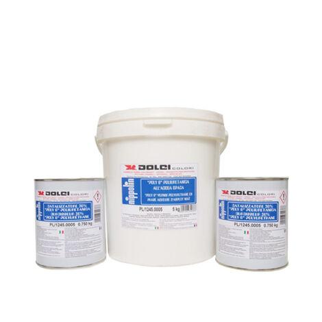 INCOLORE - 6,5KG - HYDROFUGE DOUCHE MUR/SOL TADELAKT 6,5KG DOLCI 65M2 - incolore