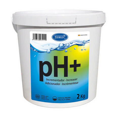 INCREMENTADOR ph + 2 KG - Tamar