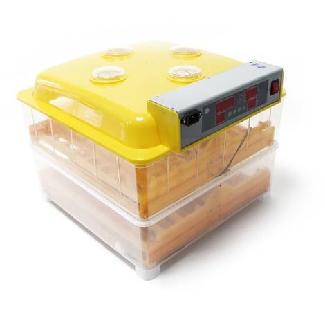 Incubadora 112 huevos automática Incubación Criadero Control Temperatura Nacedora Aves