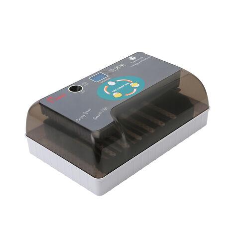 Incubateur automatique intelligent de poulet HHD 12 nouvel incubateur automatique de volaille de mini-type domestique de rotation d'oeufs