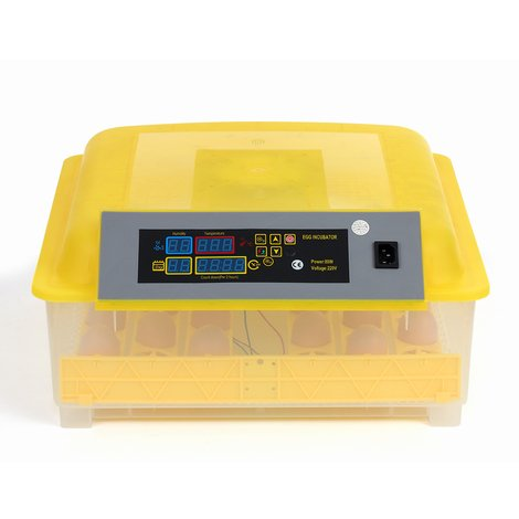 Incubateur Automatique Intelligent Pour Oeufs 48 Oeufs Ac220V Eu Plug