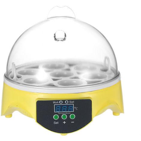 Incubateur Automatique Intelligent Pour Oeufs 7 Oeufs Ac220V Eu Plug